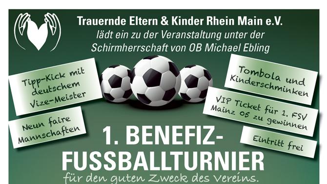 Benefiz-Fussball mit Schirmherr OB Ebling