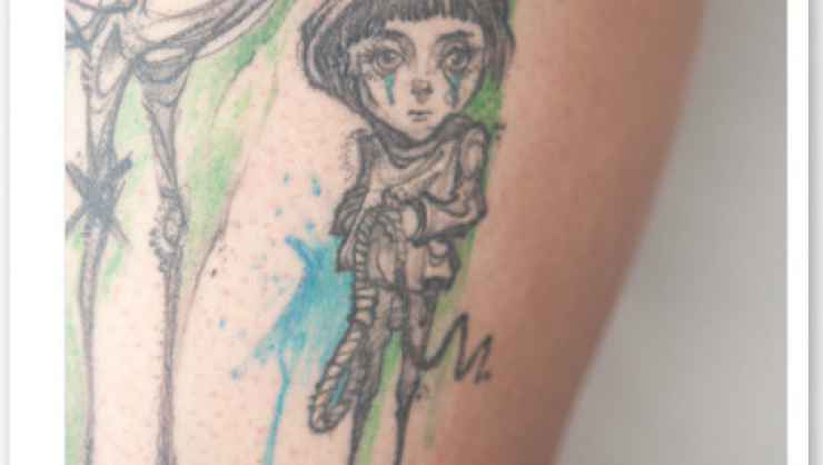 Wanderausstellung – Trauer und Tattoo